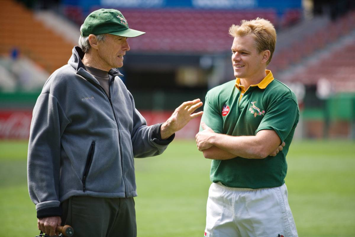 Picture of matt Damon and Eastwood