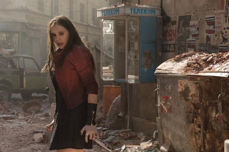 elizabeth olsen in avengers age of ultron