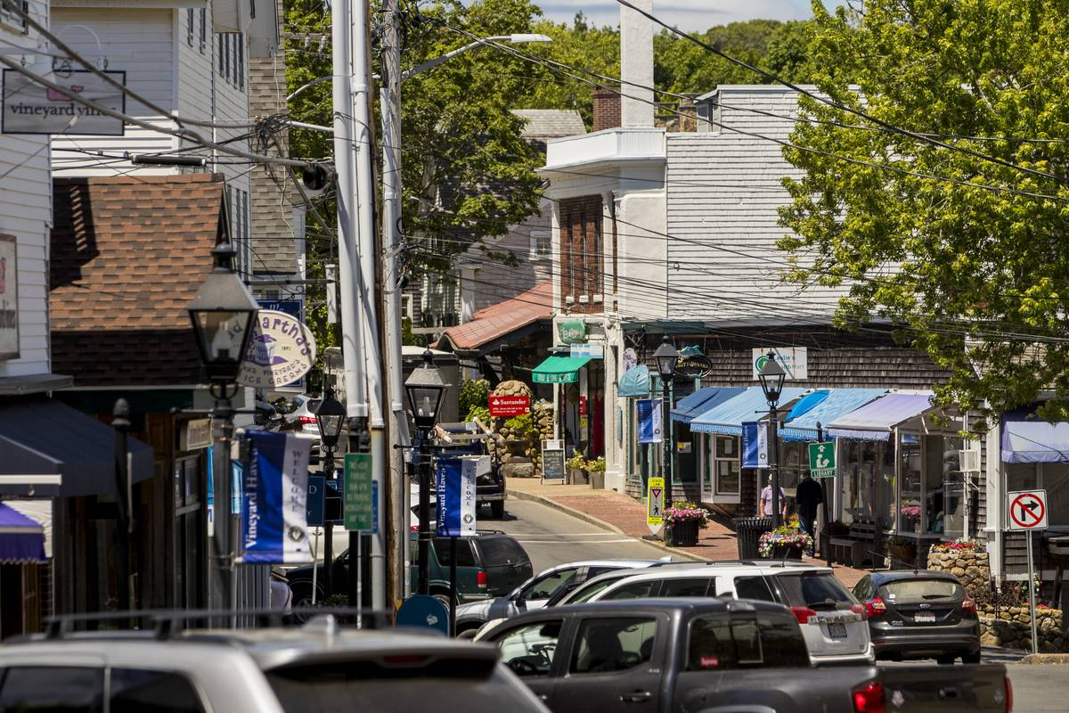 Martha's Vineyard Tourism As Massachusetts Last New England State To Reopen Dining Rooms