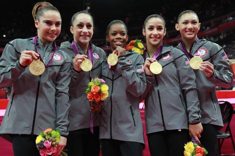 Team USA Won Team Gold