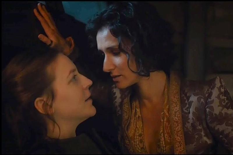 Yara Greyjoy and Ellaria Sand