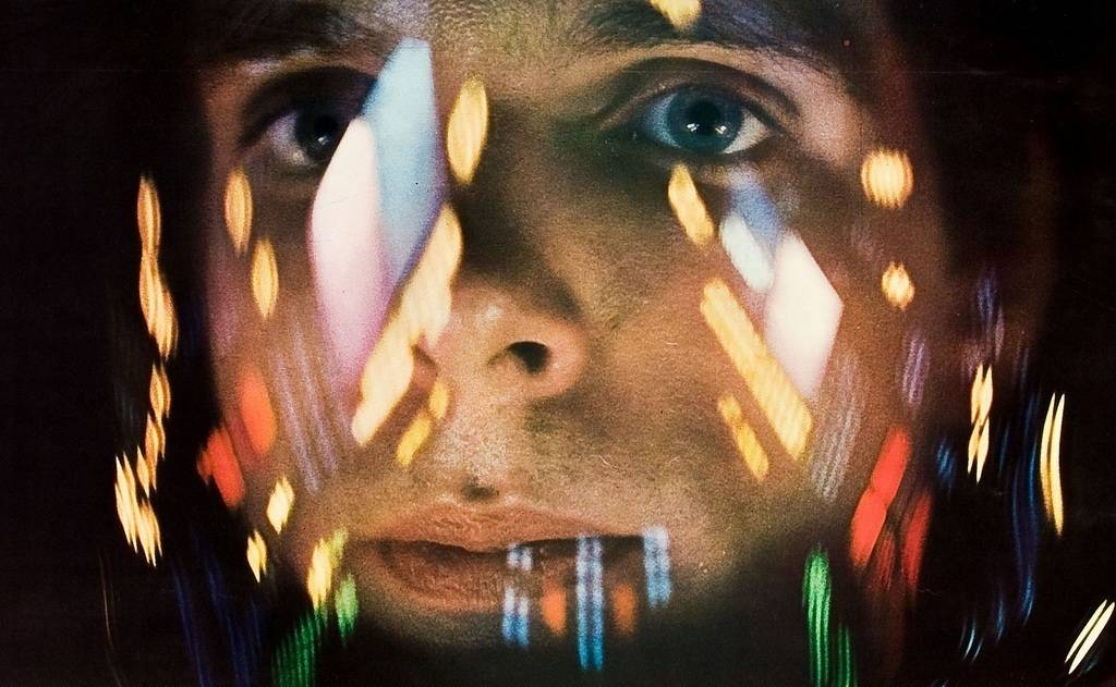 Keir Dullea as Dr. David Bowman in 2001 a space odyssey