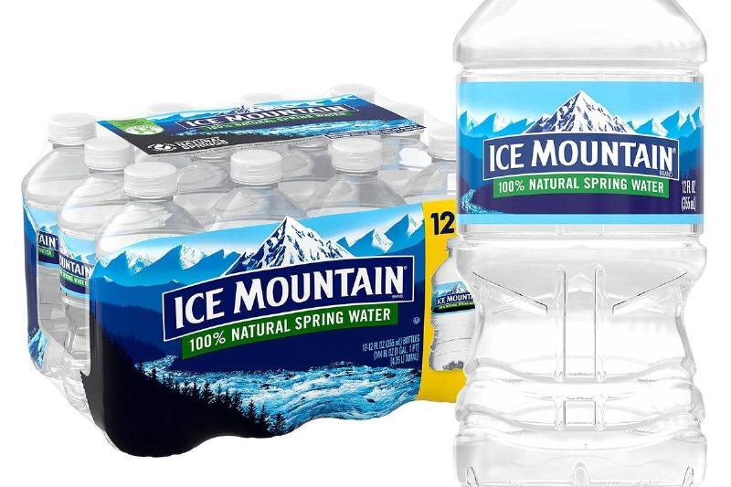 ice mountain water bottles