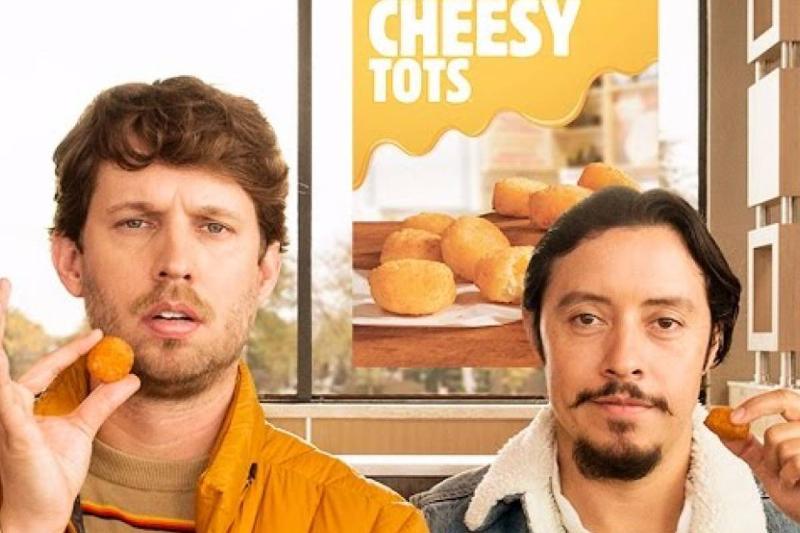 stars of Napoleon Dynamite promote Burger King's cheesy tots