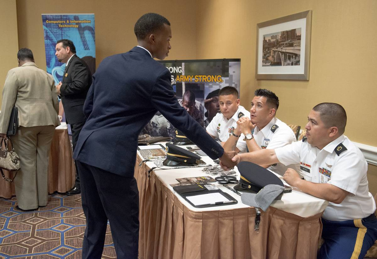 Inside A Best Hire Career Fair As Fewest Americans Since Mid-April File for Unemployment Benefits