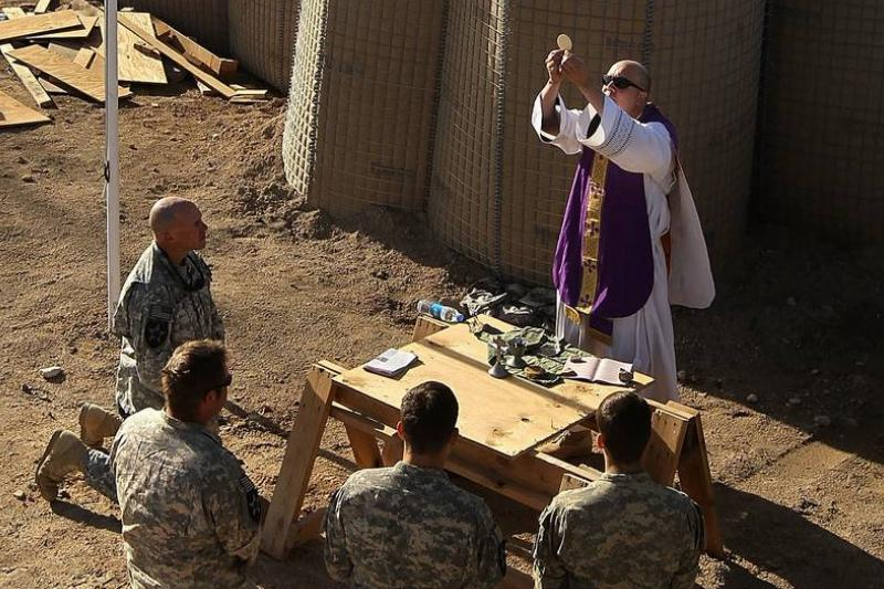 Military Chaplains Travel Afghan Battlefield Ministering To Troops